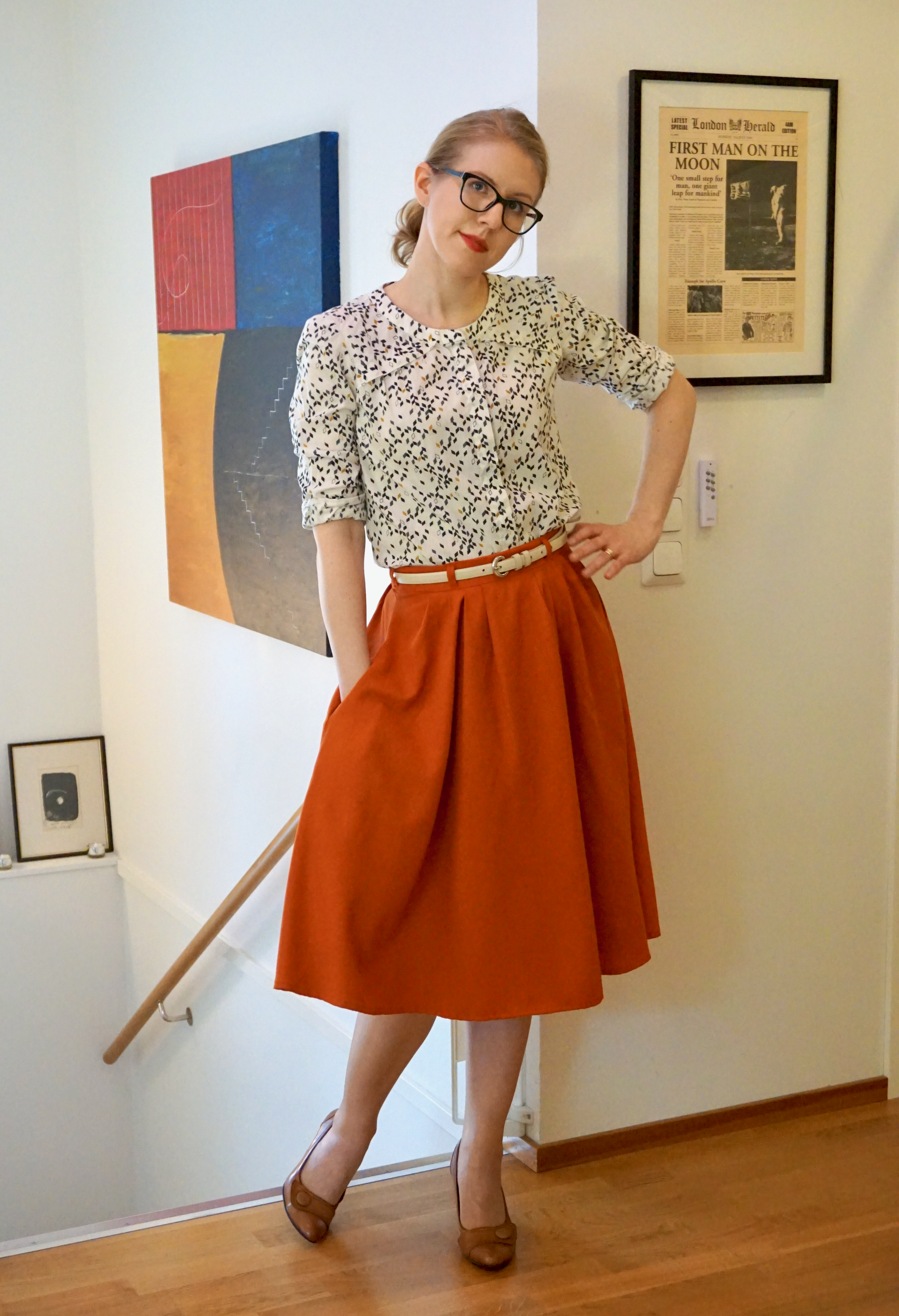 my-first-zinnia-skirt-and-tiim-blouse