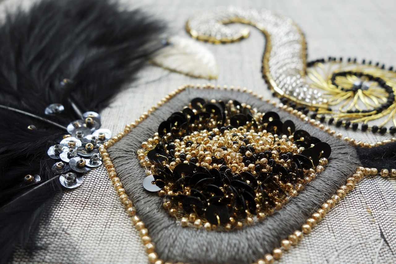 Couture Explorer Beading And Tambour Embroidery With My Hands Dream