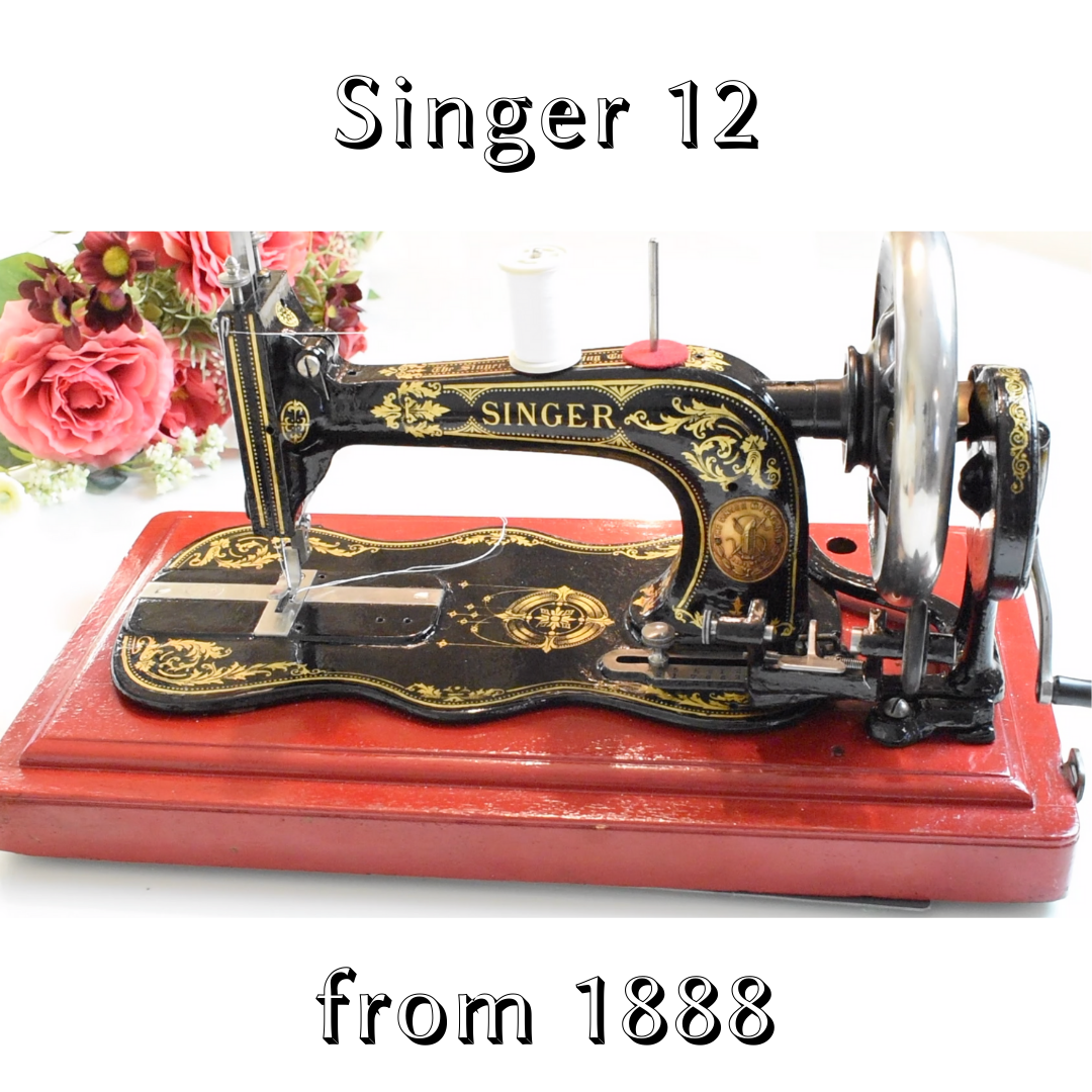 Restoring an antique Singer 12 from 1888 > with my hands - Dream